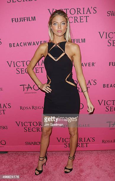 Model Martha Hunt attends the 2015 Victoria's Secret Fashion Show after party at TAO Downtown on November 10 2015 in New York City