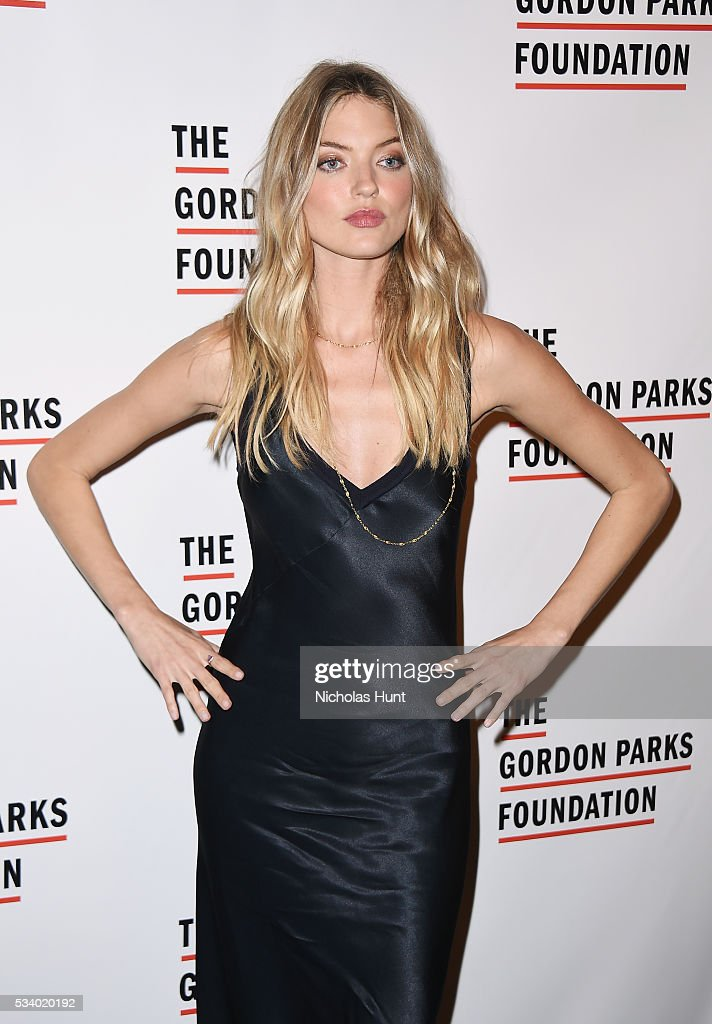 Model <a gi-track='captionPersonalityLinkClicked' href=/galleries/search?phrase=Martha+Hunt&family=editorial&specificpeople=7875709 ng-click='$event.stopPropagation()'>Martha Hunt</a> attends the 2016 Gordon Parks Foundation awards dinner at Cipriani 42nd Street on May 24, 2016 in New York City.