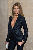 Model Maryna Linchuk attend ACRIA's 20th Anniversary Holiday Dinner at The Cunard Building on December 10 2015 in New York City