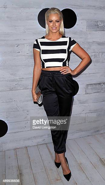 Model Maryse Ouellet attends go90 Sneak Peek at the Wallis Annenberg Center for the Performing Arts on September 24 2015 in Beverly Hills California