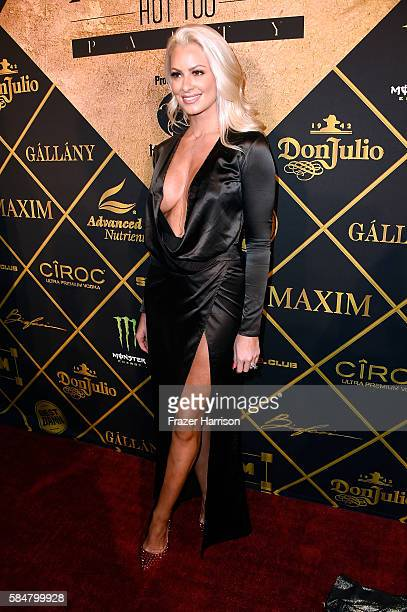 Model Maryse Ouellet attends the 2016 MAXIM Hot 100 Party at the Hollywood Palladium on July 30 2016 in Los Angeles California