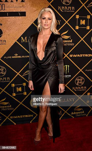Model Maryse Ouellet attends the Maxim Hot 100 Party at the Hollywood Palladium on July 30 2016 in Los Angeles California