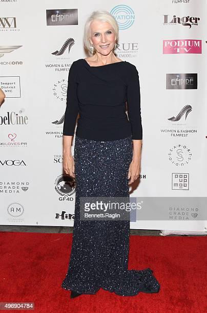 Model Maye Musk attends the 3rd Women Fashion FilmFest SHE WEBFest Opening Reception on November 12 2015 in New York City