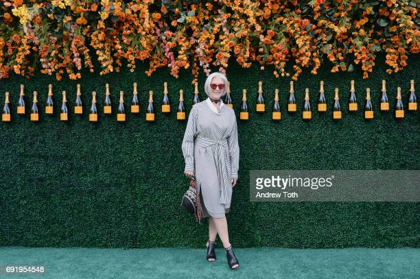Model Maye Musk attends The Tenth Annual Veuve Clicquot Polo Classic at Liberty State Park on June 3 2017 in Jersey City New Jersey