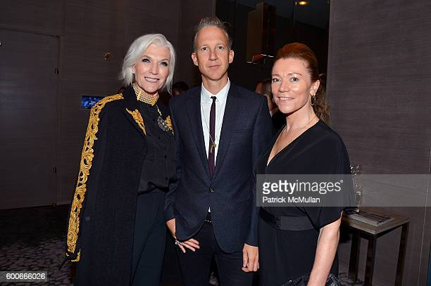 Model Maye Musk EIC of Dazed Group Jefferson Hack and a guest attend the The Daily Front Row's 4th Annual Fashion Media Awards at Park Hyatt New York...