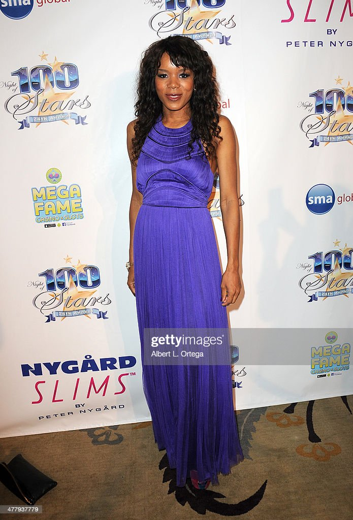 Model Mazinah Ali arrives for Norby Walters' 24nd Annual Night Of 100 Stars Oscar Viewing Gala held at Beverly Hills Hotel on March 2, 2014 in Beverly Hills, California.