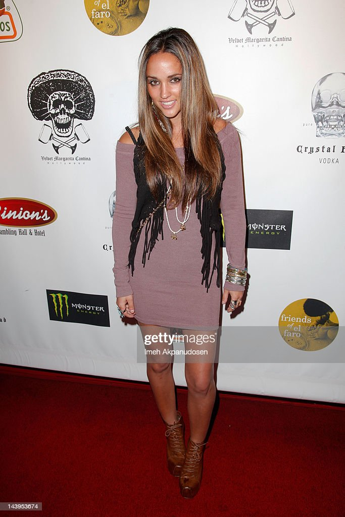 Model Megan Ozurovich attends the 8th Annual Cinco de Mayo Benefit And Charity Celebrity Poker Tournament at Velvet Margarita on May 5, 2012 in Hollywood, California.