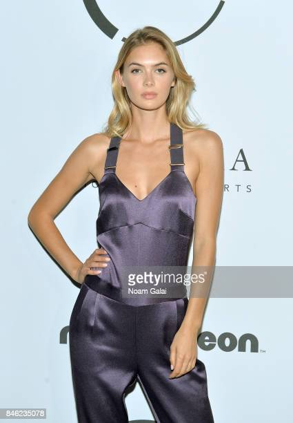 Model Megan Williams attends Unitas Third Annual Gala Against Human Trafficking at Capitale on September 12 2017 in New York City