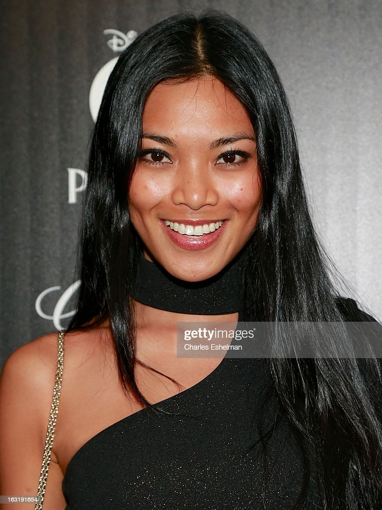 Model Meki Saldana attends the Gucci and The Cinema Society screening of 'Oz the Great and Powerful' at the DGA Theater on March 5, 2013 in New York City.
