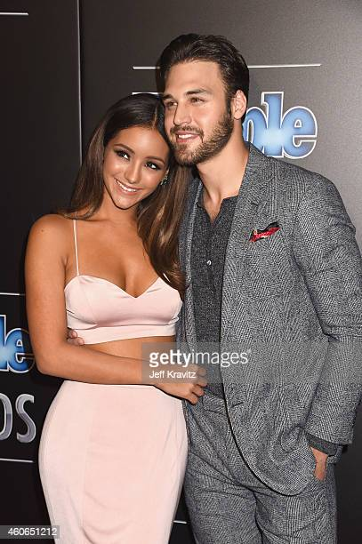 Model Melanie Iglesias and Ryan Guzman attend the PEOPLE Magazine Awards at The Beverly Hilton Hotel on December 18 2014 in Beverly Hills California