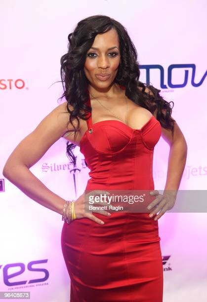 Model Melissa Ford attends the Moves Magazine Annual Super Bowl Gala on February 3 2010 in Miami Florida
