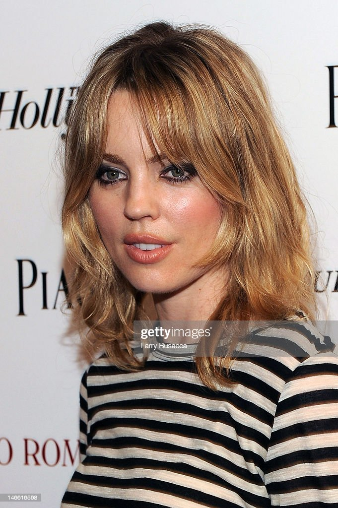 Model Melissa George attends the Cinema Society with The Hollywood Reporter & Piaget and Disaronno special screening of 'To Rome With Love' at the Paris Theatre on June 20, 2012 in New York City.