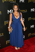 Model Melyssa Ford arrives at the Launch of OUE Skyspace LA at the US Bank Tower on July 14 2016 in Los Angeles California