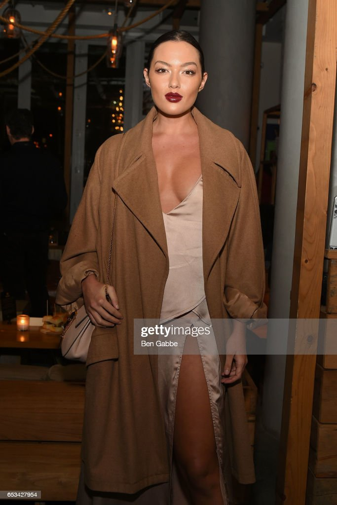Model Mia Kang attends the after party for the TriStar and Cinema Society screening of 'T2 Trainspotting' at Mr. Purple at the Hotel Indigo LES on March 14, 2017 in New York City.