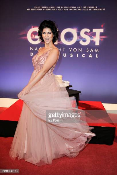 Model Micaela Schaefer during the premiere of 'Ghost Das Musical' at Stage Theater on December 7 2017 in Berlin Germany