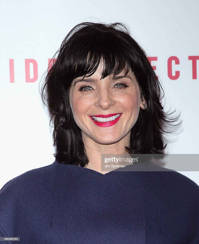 Model Michele Hicks attends the Open Road With The Cinema Society And Michael Kors Host The Premiere Of 'Side Effects' at AMC Lincoln Square Theater on January 31, 2013 in New York City.