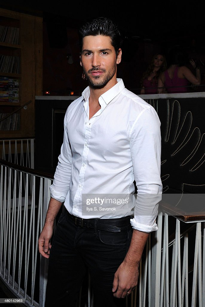 Model Miguel Iglesias attends 2nd Supermodel Saturday at No.8 on March 22, 2014 in New York City.