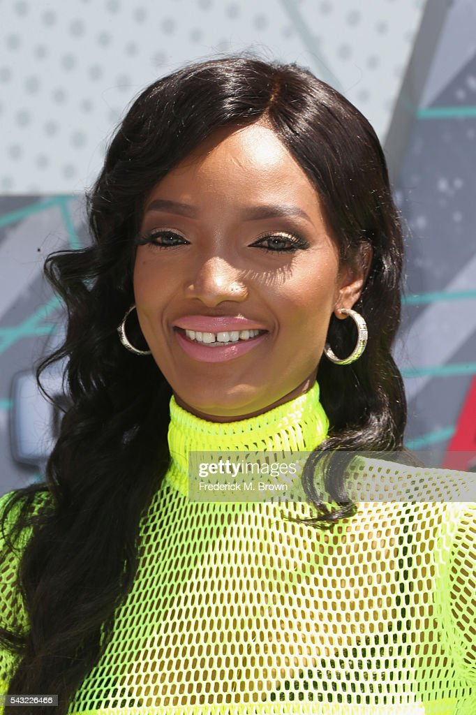 Model Millen Magese attends the 2016 BET Awards at the Microsoft Theater on June 26, 2016 in Los Angeles, California.