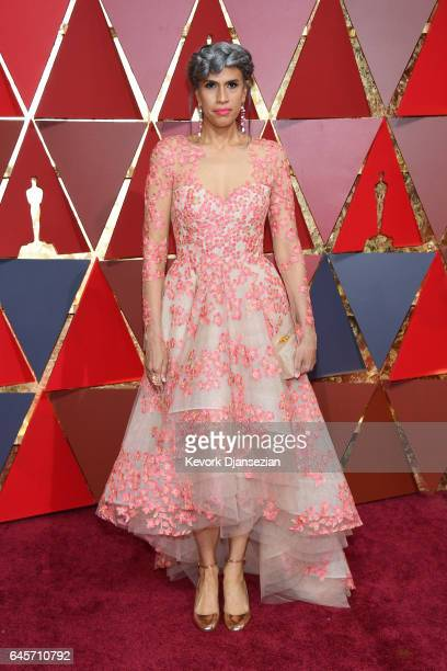 Model Helen Lasichanh attends the 89th Annual Academy Awards at Hollywood Highland Center on February 26 2017 in Hollywood California