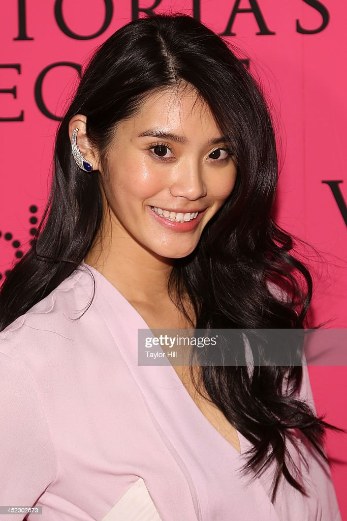 Model Ming Xi attends the after party for the 2013 Victoria's Secret Fashion Show at Lavo NYC on November 13, 2013 in New York City.
