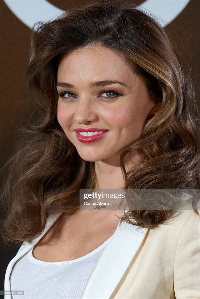 Model <a gi-track='captionPersonalityLinkClicked' href=/galleries/search?phrase=Miranda+Kerr&family=editorial&specificpeople=5714330 ng-click='$event.stopPropagation()'>Miranda Kerr</a> announced as the new Face of Mango at the Villamagna Hotel on December 11, 2012 in Madrid, Spain.