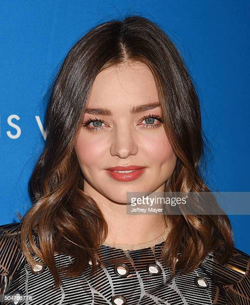 Model Miranda Kerr arrives at the 6th Biennial UNICEF Ball at the Beverly Wilshire Four Seasons Hotel on January 12 2016 in Beverly Hills California