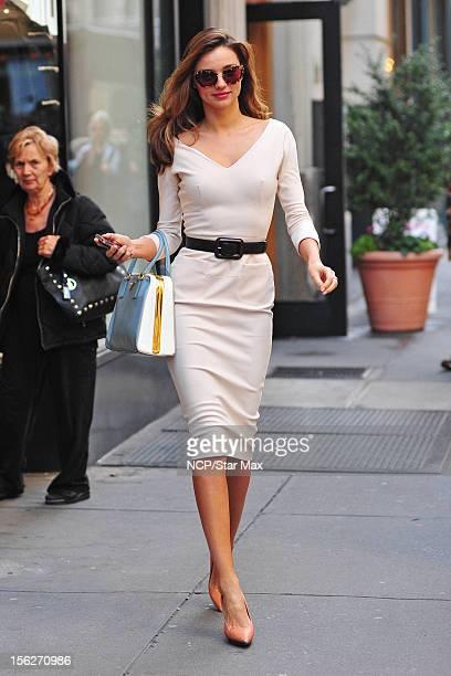 Model Miranda Kerr as seen is November 12 2012 in New York City