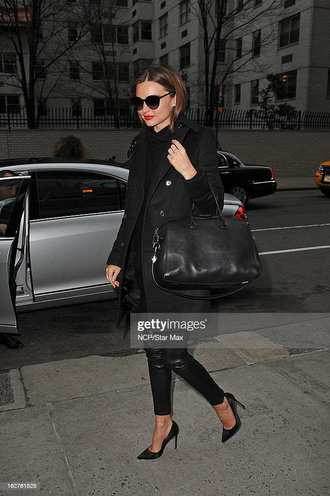 Model Miranda Kerr as seen on February 26, 2013 in New York City.