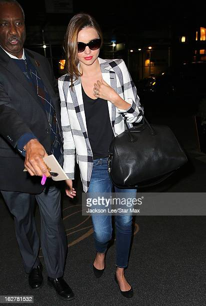 Model Miranda Kerr as seen on February 26 2013 in New York City