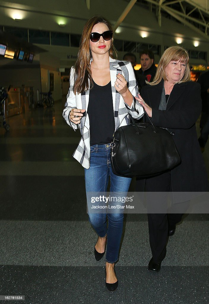 Model <a gi-track='captionPersonalityLinkClicked' href=/galleries/search?phrase=Miranda+Kerr&family=editorial&specificpeople=5714330 ng-click='$event.stopPropagation()'>Miranda Kerr</a> as seen on February 26, 2013 in New York City.