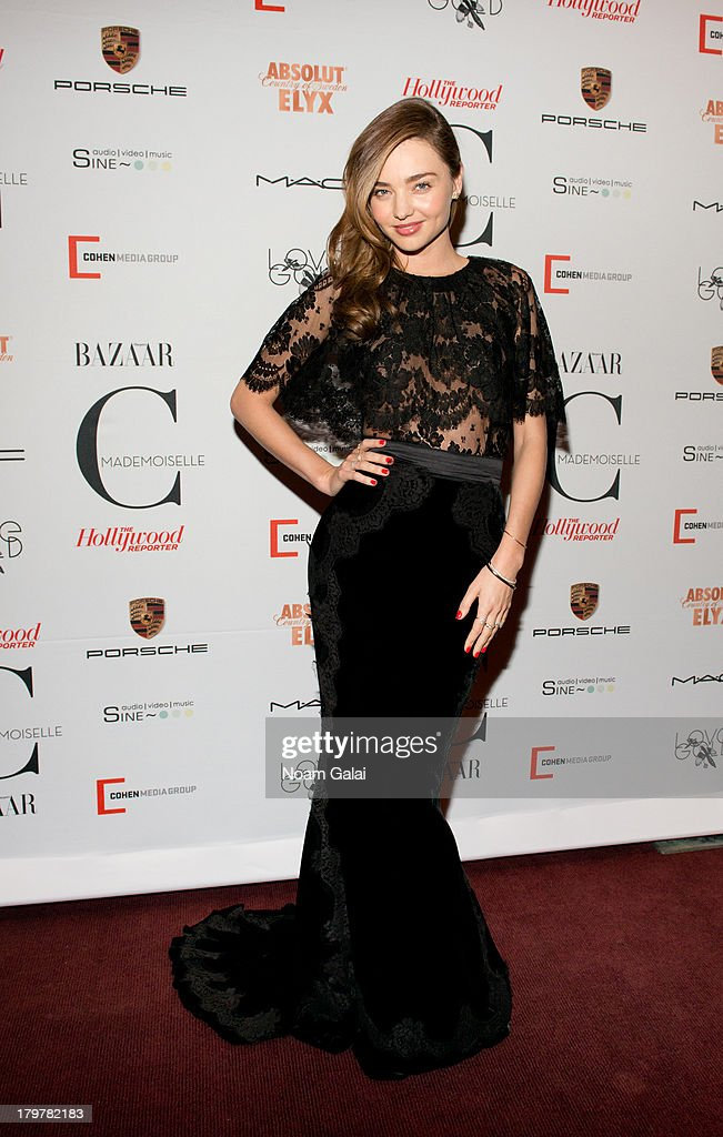 Model <a gi-track='captionPersonalityLinkClicked' href=/galleries/search?phrase=Miranda+Kerr&family=editorial&specificpeople=5714330 ng-click='$event.stopPropagation()'>Miranda Kerr</a> attends 'Mademoiselle C' New York Premiere at Florence Gould Hall on September 6, 2013 in New York City.