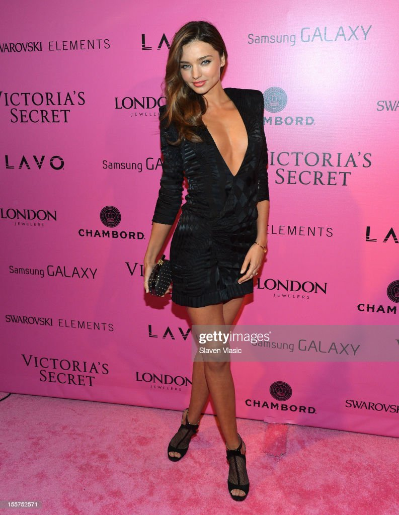 Model <a gi-track='captionPersonalityLinkClicked' href=/galleries/search?phrase=Miranda+Kerr&family=editorial&specificpeople=5714330 ng-click='$event.stopPropagation()'>Miranda Kerr</a> attends Samsung Galaxy features arrivals at the official Victoria's Secret fashion show after party on November 7, 2012 in New York City.