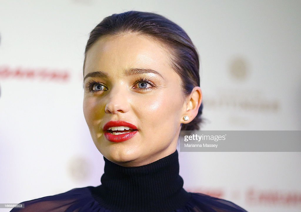 Model <a gi-track='captionPersonalityLinkClicked' href=/galleries/search?phrase=Miranda+Kerr&family=editorial&specificpeople=5714330 ng-click='$event.stopPropagation()'>Miranda Kerr</a> attends the QANTAS Gala Dinner at Sydney Domestic Airport on April 18, 2013 in Sydney, Australia.
