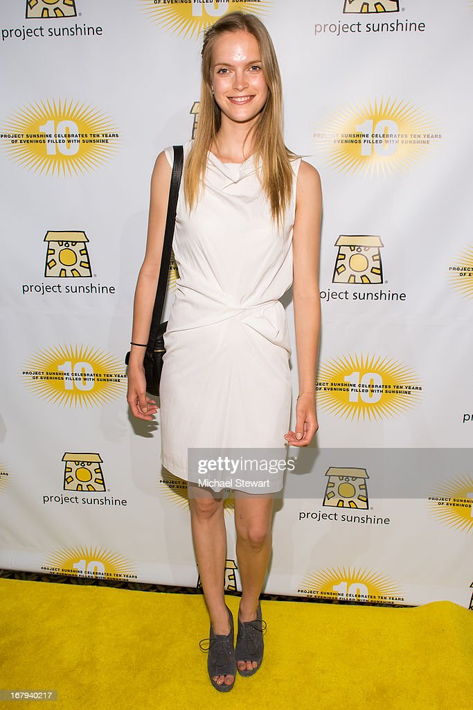 Model Mirte Maas attends the 10th Annual Project Sunshine Benefit at Cipriani 42nd Street on May 2, 2013 in New York City.