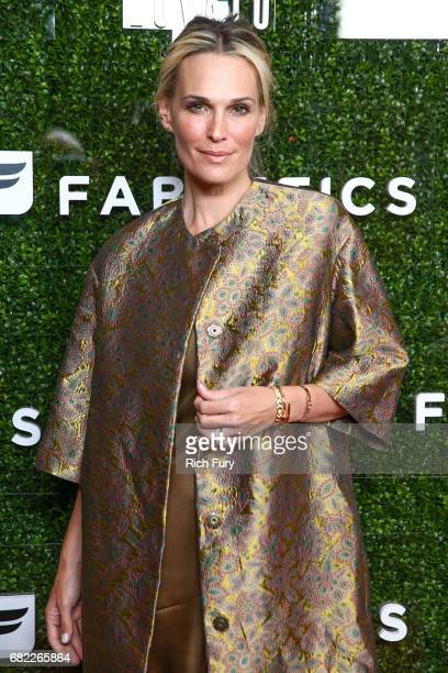 Model Molly Sims attends the launch of Fabletics Capsule Collection at the Beverly Hills Hotel on May 10 2017 in Los Angeles California