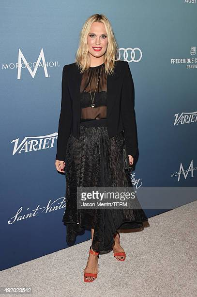 Model Molly Sims attends Variety's Power Of Women Luncheon at the Beverly Wilshire Four Seasons Hotel on October 9 2015 in Beverly Hills California