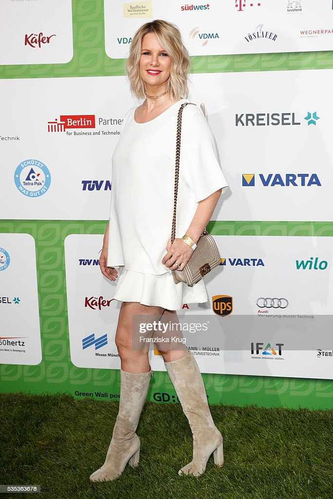 Model <a gi-track='captionPersonalityLinkClicked' href=/galleries/search?phrase=Monica+Ivancan&family=editorial&specificpeople=3949859 ng-click='$event.stopPropagation()'>Monica Ivancan</a> attends the Green Tec Award at ICM Munich on May 29, 2016 in Munich, Germany.