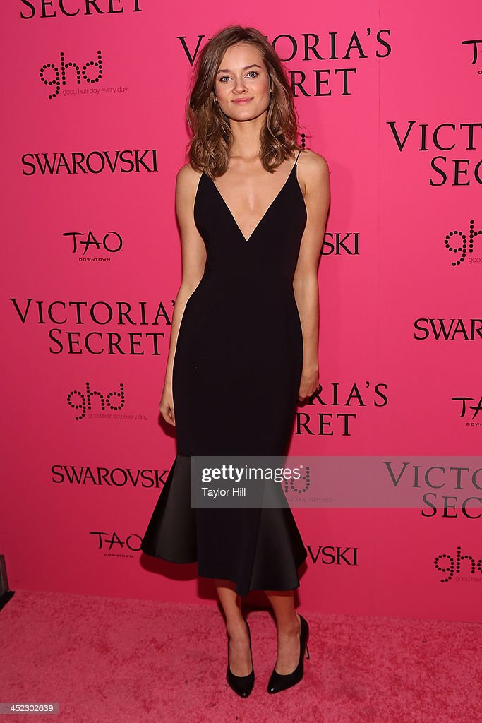 Model Monica Jagaciak attends the after party for the 2013 Victoria's Secret Fashion Show at Lavo NYC on November 13, 2013 in New York City.