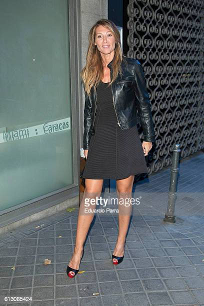 Model Monica Pont attends Smylife Collection Beauty Art charity auction at Odalys auction house on October 6 2016 in Madrid Spain