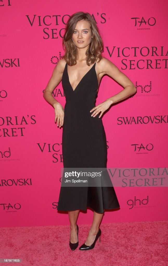 Model Monika Jagaciak attends the after party for the 2013 Victoria's Secret Fashion Show at TAO Downtown on November 13, 2013 in New York City.