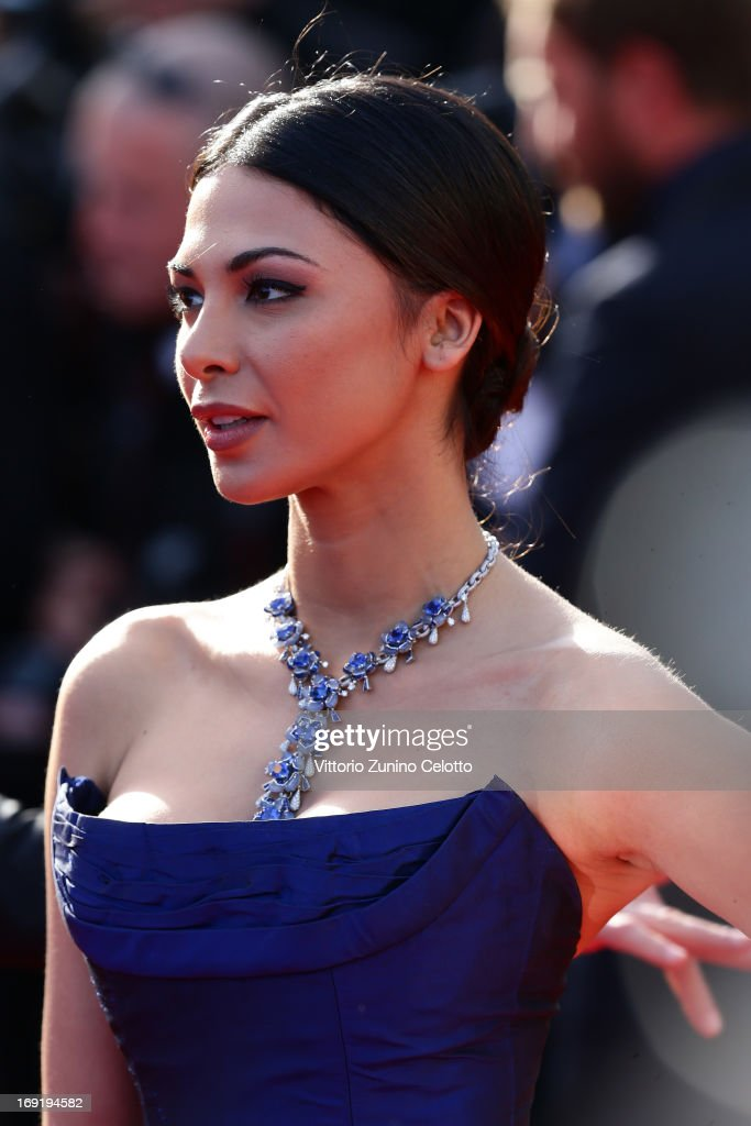 Model Moran Atias attends the 'Cleopatra' premiere during The 66th Annual Cannes Film Festival at The 60th Anniversary Theatre on May 21, 2013 in Cannes, France.
