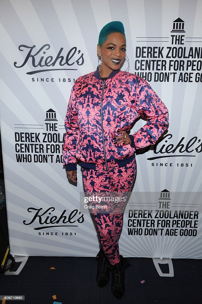 Model/ Musician <a gi-track='captionPersonalityLinkClicked' href=/galleries/search?phrase=Sharaya+J&family=editorial&specificpeople=12570876 ng-click='$event.stopPropagation()'>Sharaya J</a> attends Kiehl's Zoolander Center Opening on February 9, 2016 in New York City.