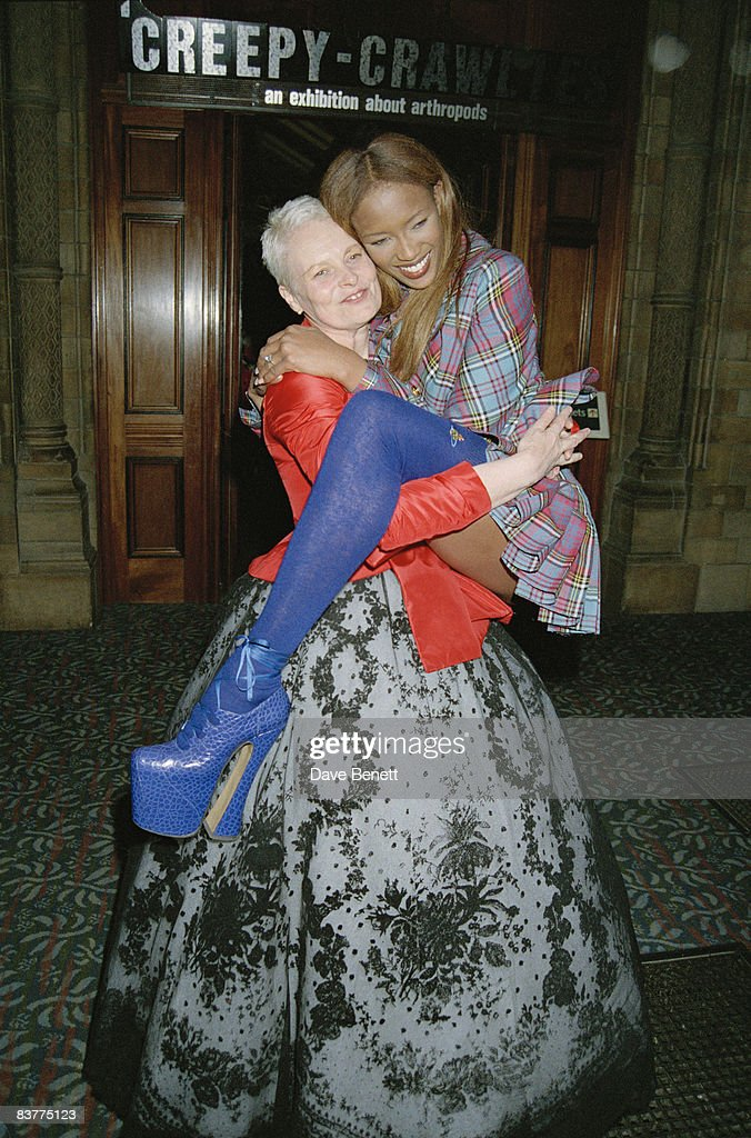 Model Naomi Campbell and fashion designer Vivienne Westwood attend the Designer of the Year Awards at the Natural History Museum during London...