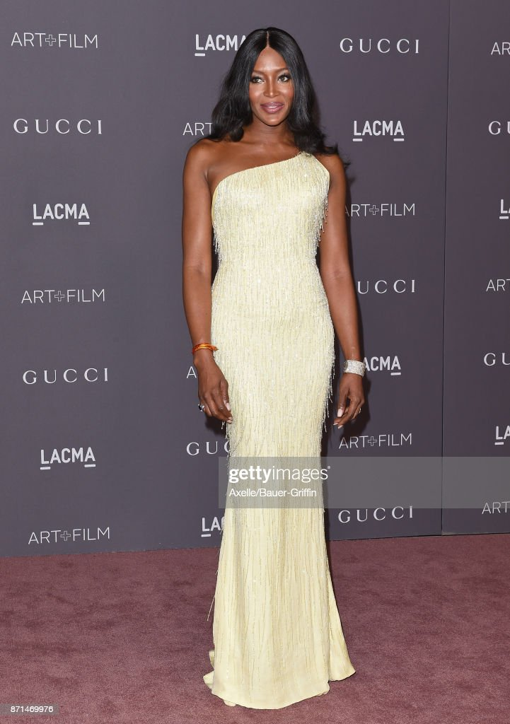 Model Naomi Campbell arrives at the 2017 LACMA Art + Film Gala at LACMA on November 4, 2017 in Los Angeles, California.