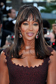 Model Naomi Campbell at the premiere of 'The Beaver' during the 64th Cannes International Film Festival