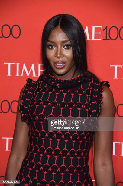 Model Naomi Campbell attends the 2017 Time 100 Gala at Jazz at Lincoln Center on April 25 2017 in New York City