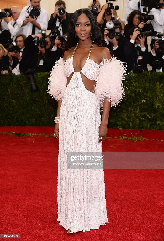 Model <a gi-track='captionPersonalityLinkClicked' href=/galleries/search?phrase=Naomi+Campbell&family=editorial&specificpeople=171722 ng-click='$event.stopPropagation()'>Naomi Campbell</a> attends the 'Charles James: Beyond Fashion' Costume Institute Gala at the Metropolitan Museum of Art on May 5, 2014 in New York City.
