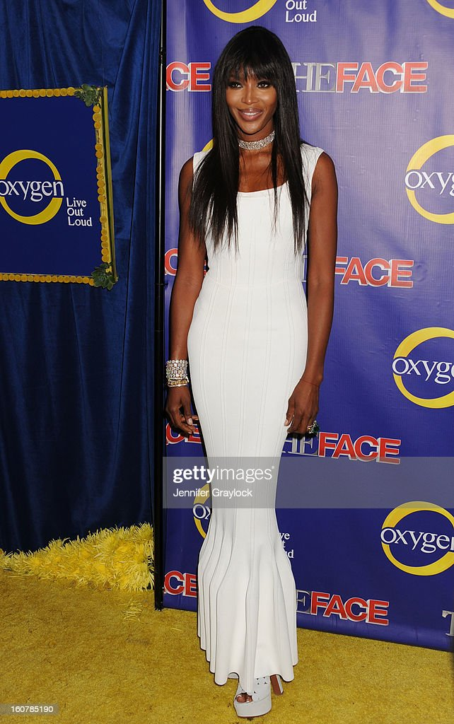 Model <a gi-track='captionPersonalityLinkClicked' href=/galleries/search?phrase=Naomi+Campbell&family=editorial&specificpeople=171722 ng-click='$event.stopPropagation()'>Naomi Campbell</a> attends 'The Face' Series Premiere at Marquee New York on February 5, 2013 in New York City.