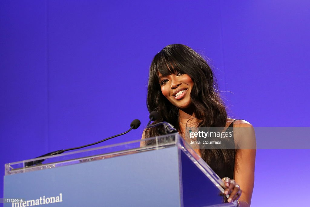 Model Naomi Campbell attends the International Center of Photography 31st annual Infinity Awards at Pier Sixty at Chelsea Piers on April 30, 2015 in New York City.