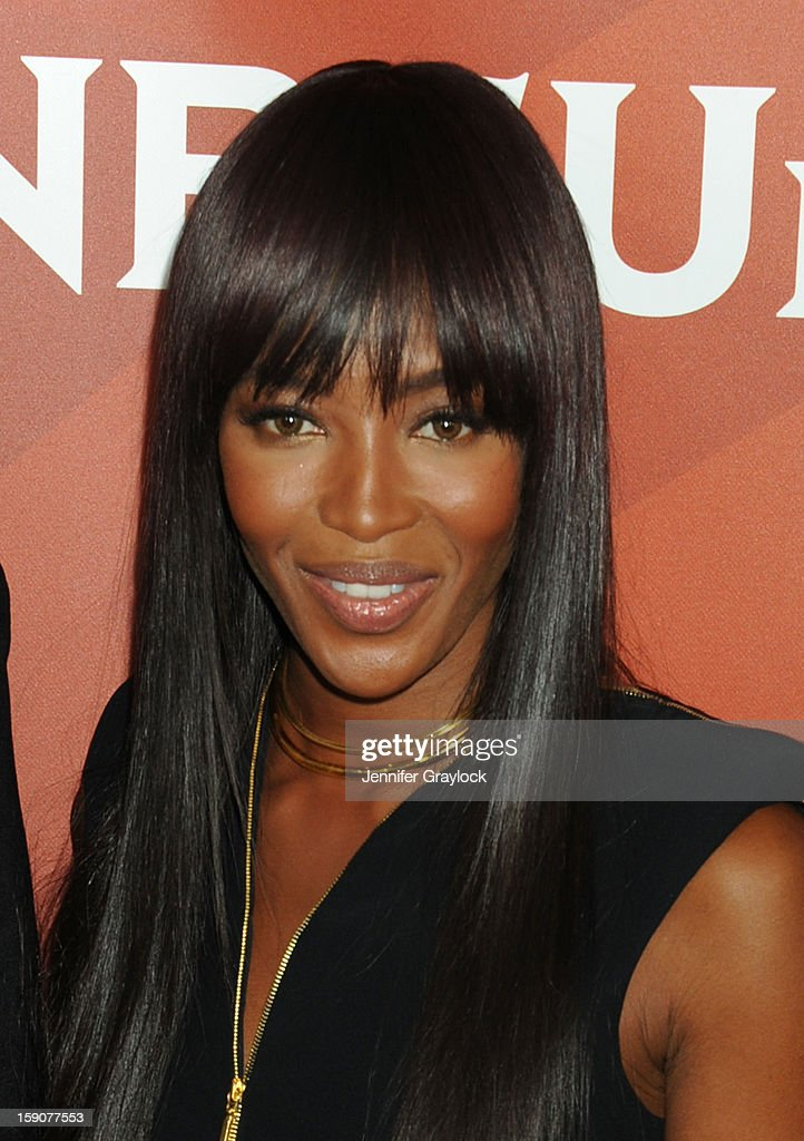 Model Naomi Campbell attends the NBC 2013 TCA Winter Press Tour Day 2 held at The Langham Huntington Hotel and Spa on January 7, 2013 in Pasadena, California.